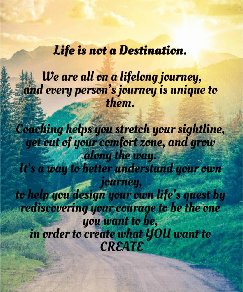 Life Is Not a Destination