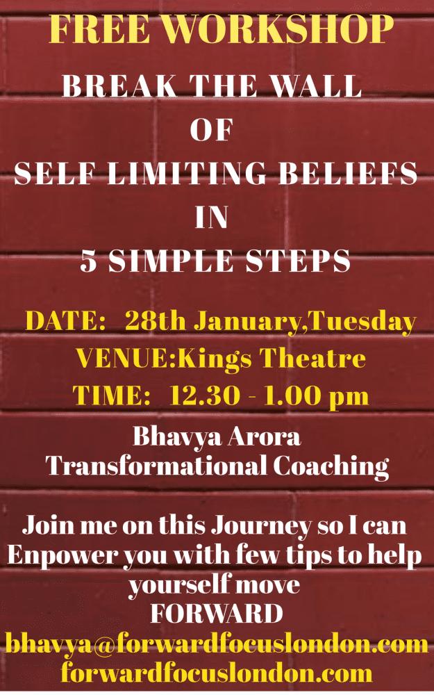 Break The Wall of Self Limiting Beliefs
